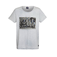 Buy Scotch & Soda Vintage Photograph T-Shirt, Grey Melange Online at johnlewis.com