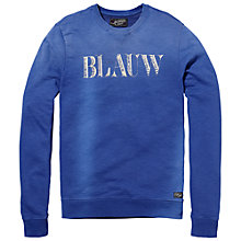 Buy Scotch & Soda Amsterdams Blauw Sweatshirt Online at johnlewis.com