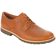 Buy Rockport Ledge Hill Leather Derby Shoes, Tan Online at johnlewis.com