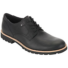 Buy Rockport Ledge Hill Leather Derby Shoes, Black Online at johnlewis.com