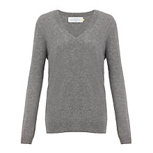 Buy Collection WEEKEND by John Lewis Slouchy Deep-V Jumper Online at johnlewis.com
