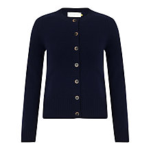 Buy Collection WEEKEND by John Lewis Cashmere Crew Cardigan Online at johnlewis.com