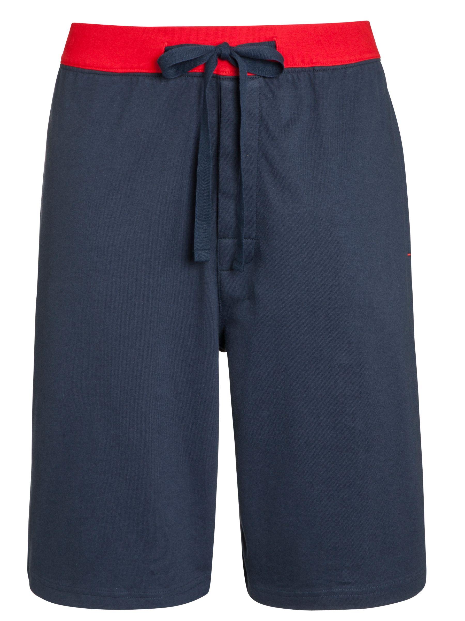 John Lewis Jersey Shorts, Navy