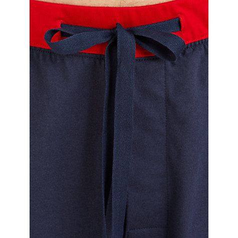 Buy John Lewis Jersey Shorts, Navy Online at johnlewis.com