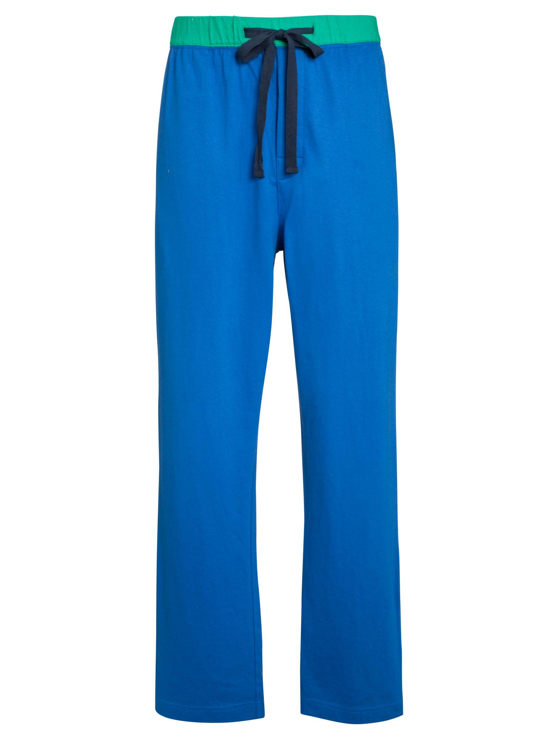 John Lewis Jersey Pyjama Pants, Blue