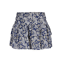 Buy Mango Print Ruffle Skirt, Blue Online at johnlewis.com