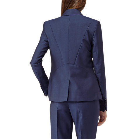 Buy Reiss Aisha Fitted Jacket, Bright Navy Online at johnlewis.com