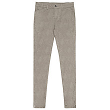 Buy Reiss Kelly Jacquard Jeans, Taupe Online at johnlewis.com