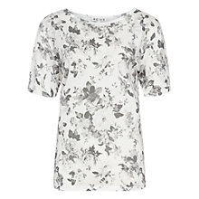 Buy Reiss Manu Floral Print T-Shirt, Multi Online at johnlewis.com