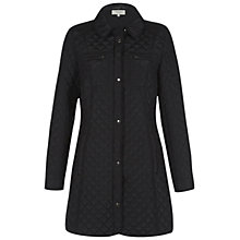 Buy Hobbs Christie Coat, Black Online at johnlewis.com