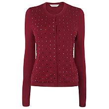Buy L.K. Bennett Senna Beaded Cardigan Online at johnlewis.com