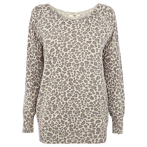 Buy Oasis Oversized Animal Jumper, Multi Online at johnlewis.com