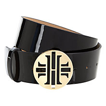 Buy Hobbs Harriet Belt, Black Online at johnlewis.com