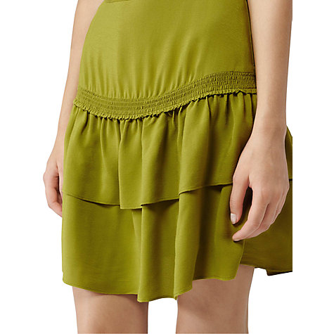 Buy Reiss Milne Mini Skirt, Absinth Online at johnlewis.com