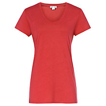 Buy Reiss Basic Contrast Neck T-Shirt Online at johnlewis.com
