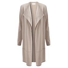 Buy East Merino Longline Cardigan, Ecru Online at johnlewis.com
