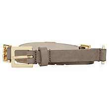 Buy Reiss Adelaide Gate Chain Leather Belt Online at johnlewis.com
