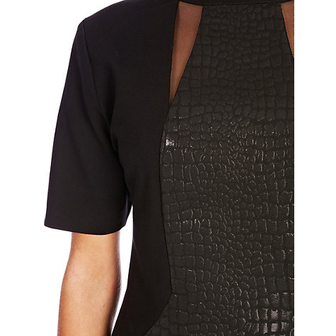 Buy Coast Cersei Bodycon Dress, Black Online at johnlewis.com
