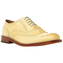Buy Bertie Braxton Pastel Leather Brogue Oxford Shoes Online at johnlewis.com