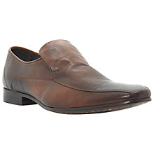 Buy Bertie Acton Lane Leather Loafers, Tan Online at johnlewis.com