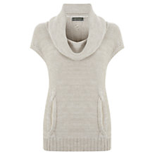 Buy Mint Velvet Cable Knit Jumper, Pale Green Online at johnlewis.com