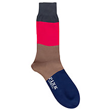 Buy Thomas Pink Scarborough Stripe Socks Online at johnlewis.com