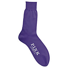 Buy Thomas Pink Plain Cotton Socks Online at johnlewis.com