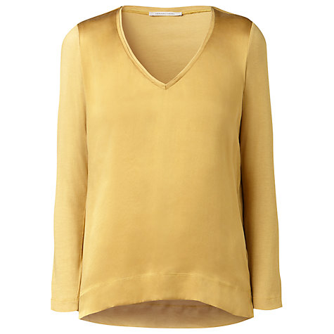 Buy Gérard Darel Silk Mix T-Shirt Online at johnlewis.com