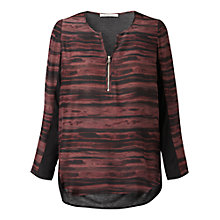 Buy Gérard Darel Striped Blouse, Red Online at johnlewis.com