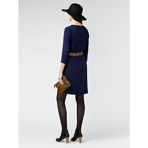 Buy Gérard Darel V-Neck Tunic Dress, Navy Online at johnlewis.com