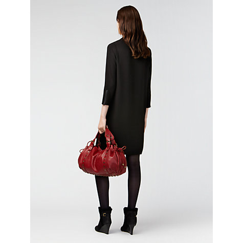 Buy Gérard Darel Cut-Out Neck Dress, Black Online at johnlewis.com
