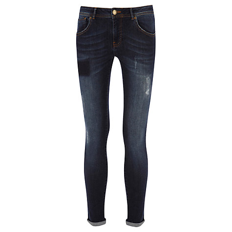 Buy Warehouse Denim Jeans, Dark Wash Online at johnlewis.com