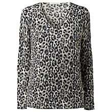 Buy Gérard Darel Leopard Print Sweater, Khaki Online at johnlewis.com