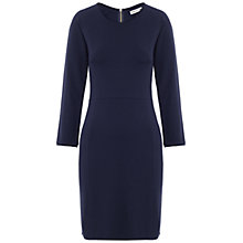 Buy Whistles Malou Jersey Dress, Navy Online at johnlewis.com