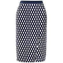 Buy Whistles Ovoid Spot Wrap Skirt, Blue/Multi Online at johnlewis.com