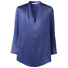 Buy Gérard Darel Silk Zip Blouse Online at johnlewis.com