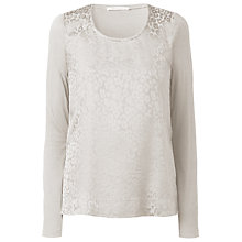 Buy Gérard Darel Leopard Print Jumper, Beige Online at johnlewis.com