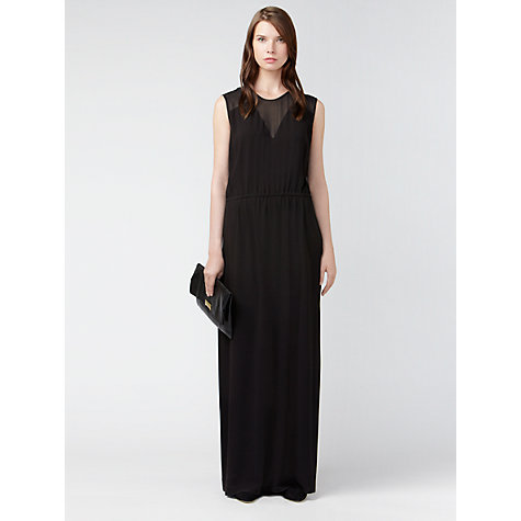 Buy Gérard Darel Maxi Dress, Black Online at johnlewis.com