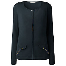 Buy Gérard Darel Zip Cardigan, Navy Online at johnlewis.com