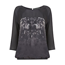 Buy Mint Velvet Sophia Print Top, Multi Online at johnlewis.com
