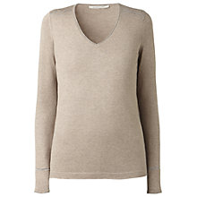 Buy Gérard Darel Cotton Blend Jumper, Taupe Online at johnlewis.com