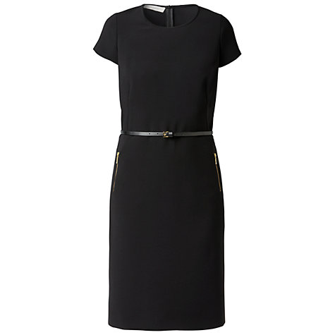Buy Gérard Darel Fitted Waist Shift Dress, Black Online at johnlewis.com