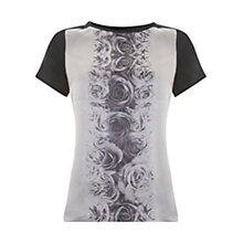 Buy Mint Velvet Janie Print T-Shirt, Multi Online at johnlewis.com