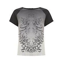 Buy Mint Velvet Heidi Print Boxy T-Shirt, Multi Online at johnlewis.com