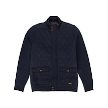 Buy Ted Baker Quiltin Jacket, Navy Online at johnlewis.com