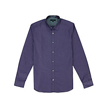 Buy Ted Baker Gudforu Dobby Tonal Shirt Online at johnlewis.com