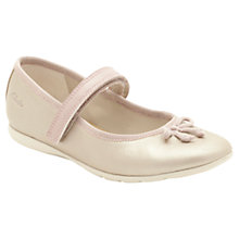 Buy Clarks Dance Hope Leather Shoes, Champagne Online at johnlewis.com