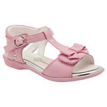Buy Clarks Orra Noon Glitter Sandals, Pale Pink Online at johnlewis.com