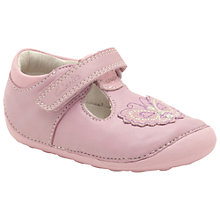Buy Clarks Ida Sweet Shoes, Pale Pink Online at johnlewis.com