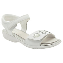 Buy Clarks Jacey Kate Sandals, White Online at johnlewis.com